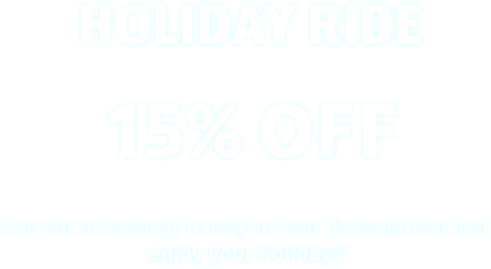 Holiday Ride: 15% OFF