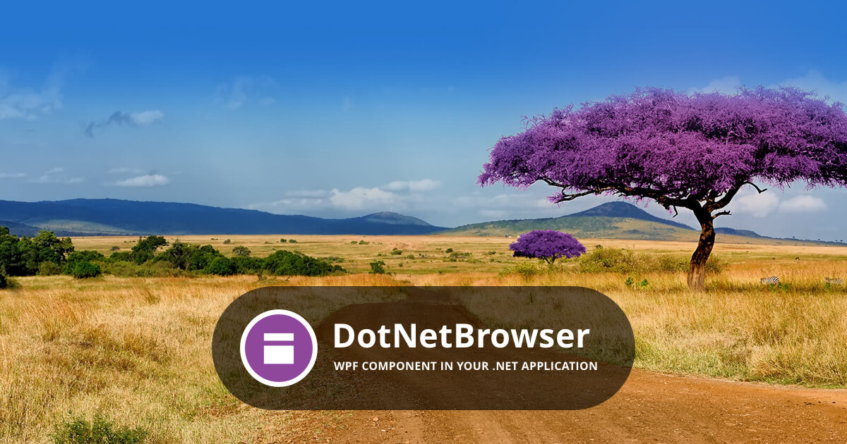 DotNetBrowser — Add Chromium to your  NET app